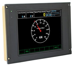 DMI-210 Intelligent Railway HMI